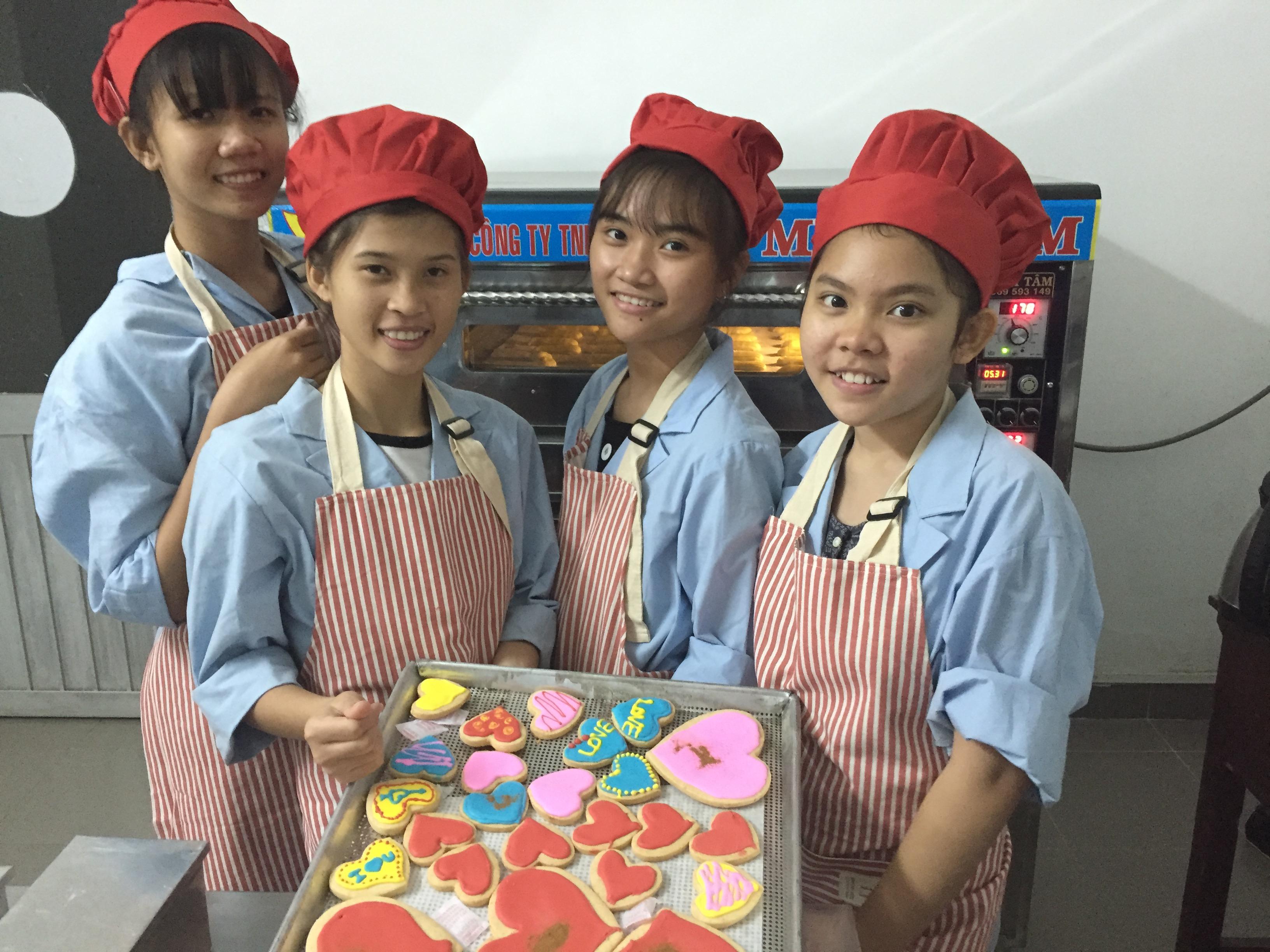 bakery LRWS Charity NGO Ho Chi Minh HCWA