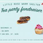 tea party LRWS Charity NGO Ho Chi Minh